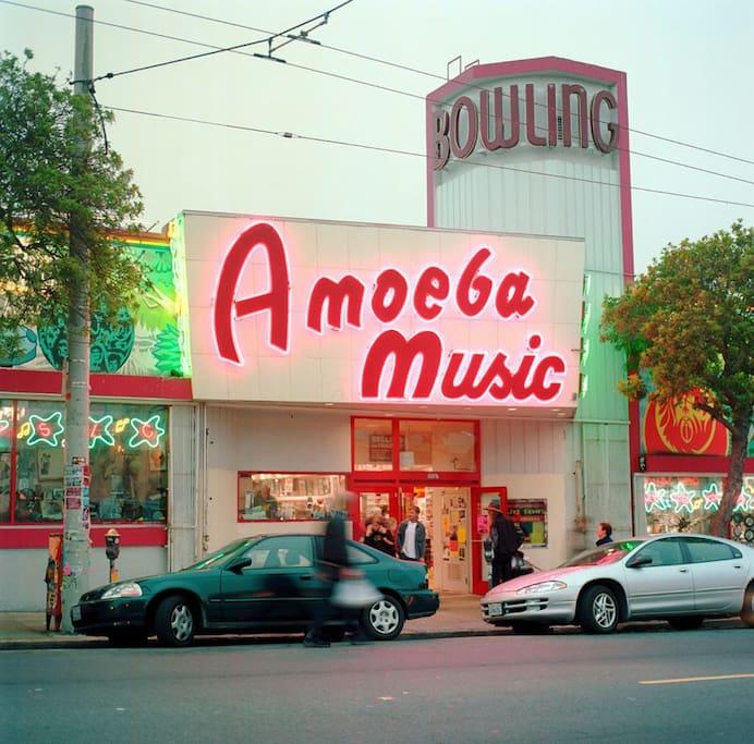 Photo of Amoeba Music in Haight-Ashbury
