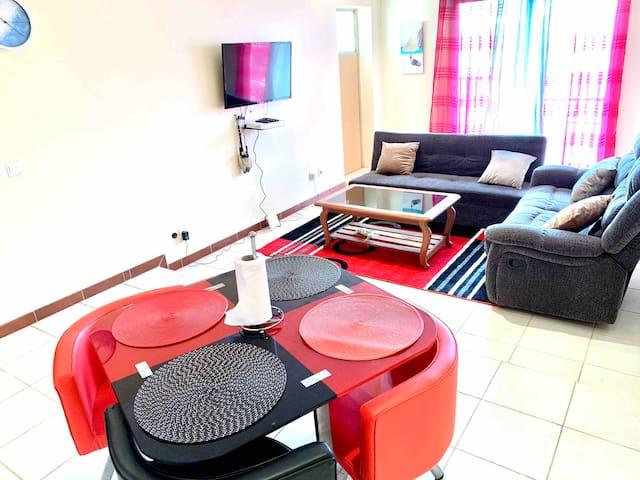 Chambre privée aux Mamelles-Ouakam