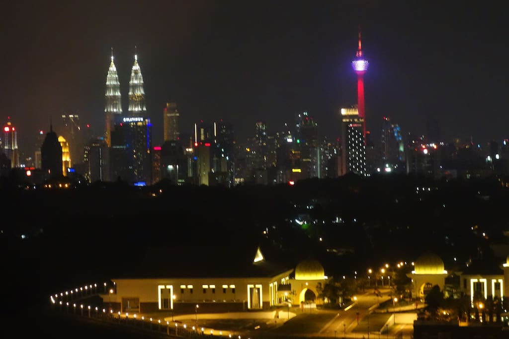 KLCC Twin towers and KL Tower