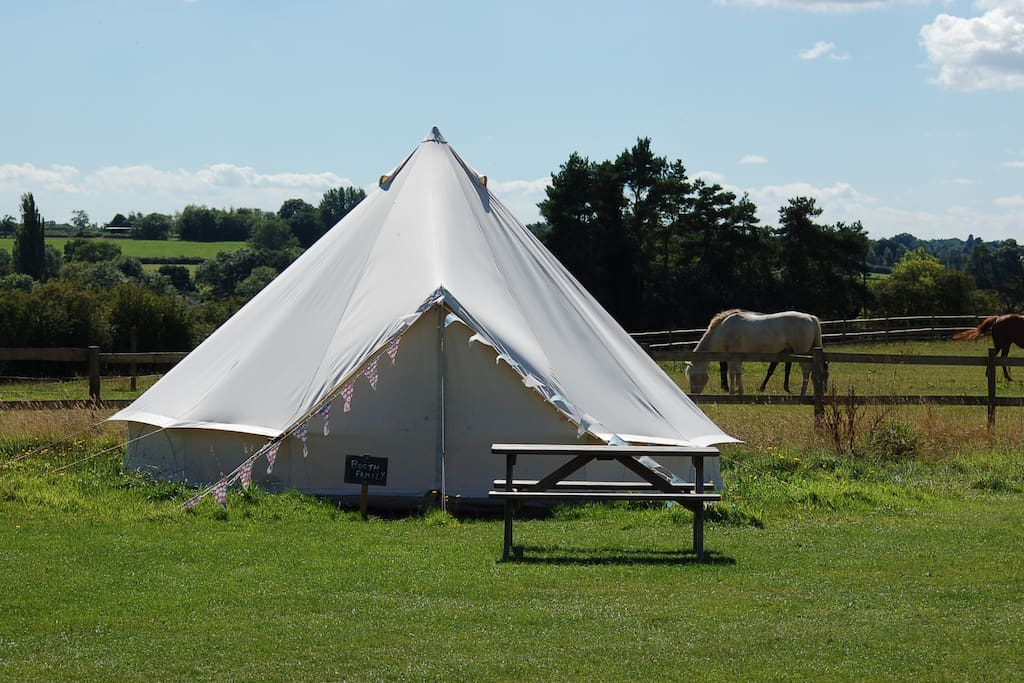 Luxury Furnished Bell Tent
