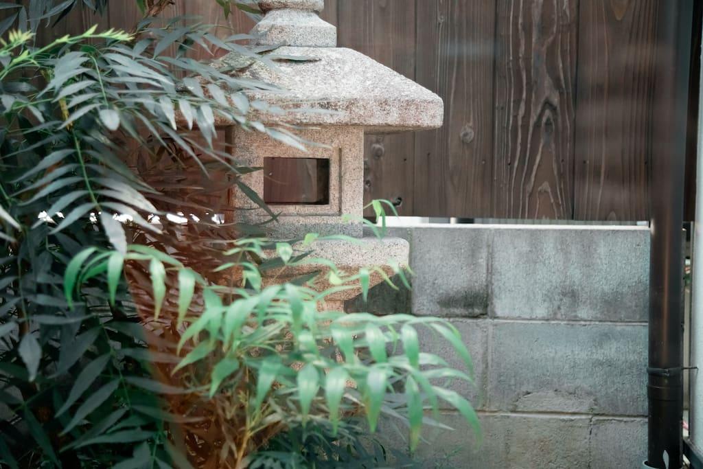 Japanese garden 庭院