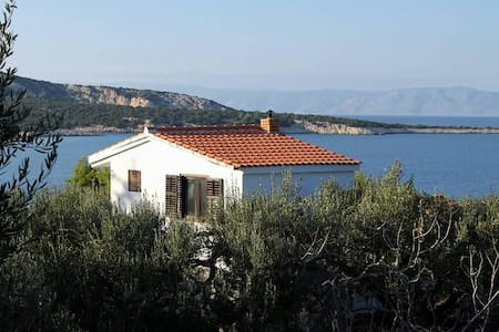Two bedroom apartment with terrace and sea view Uvala Pokrivenik, Hvar (A-5224-a) - Gdinj