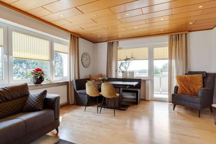 Ferienwohnung Fichtelherz Mittendrin 87 m² - 2 SZ