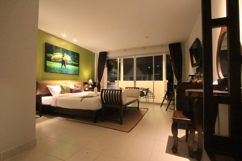 Bed room over view