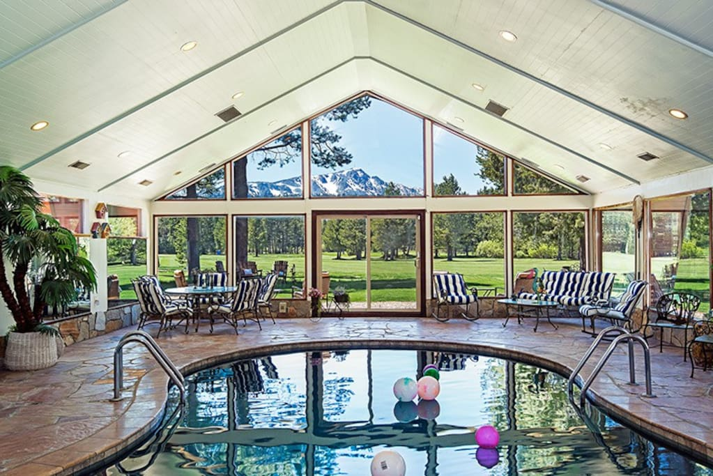 7 Bedroom W Indoor Pool On Fairway Houses For Rent In South Lake Tahoe California United States