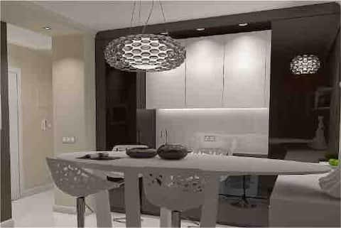 Modern and beautiful apartment near park free wifi