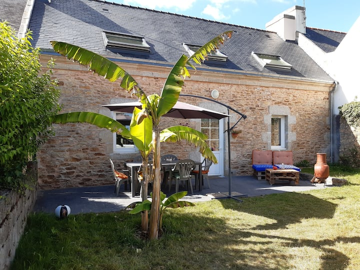 Maison bretonne au cœur du pays Bigouden
