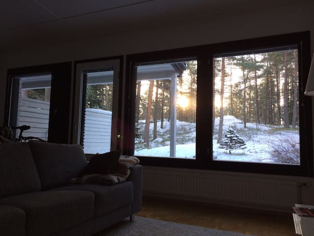 Terrace house with lovely open yard, South Espoo - Espoo - Huis