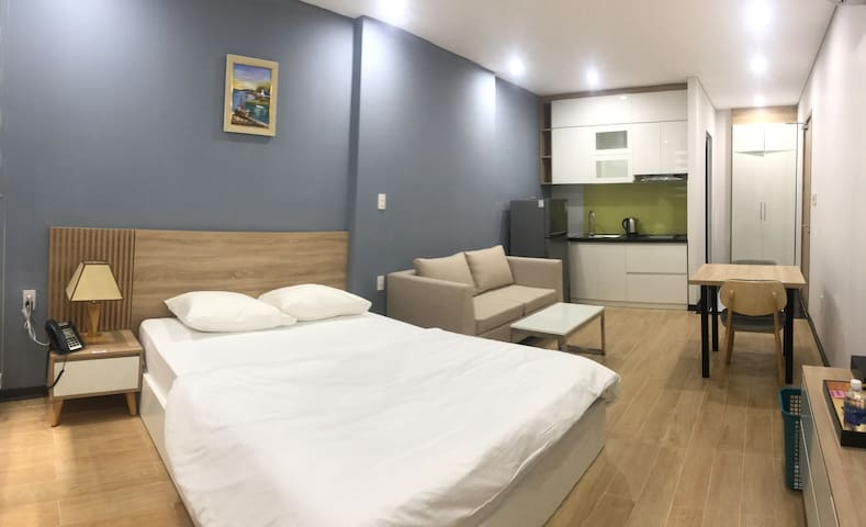 Studio/Luxstay in town- Daily clean