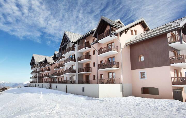 Appartement de Montagne Ski aux pieds ! Accès casiers à skis