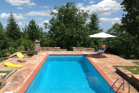 Country House - Entire Hill-Private Swimming Pool