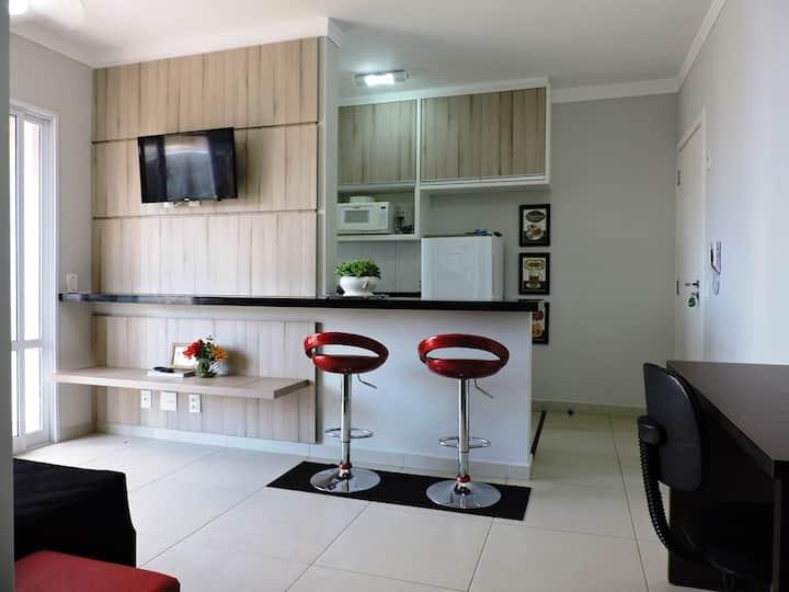 moderno e completo em prédio novo e conceituado