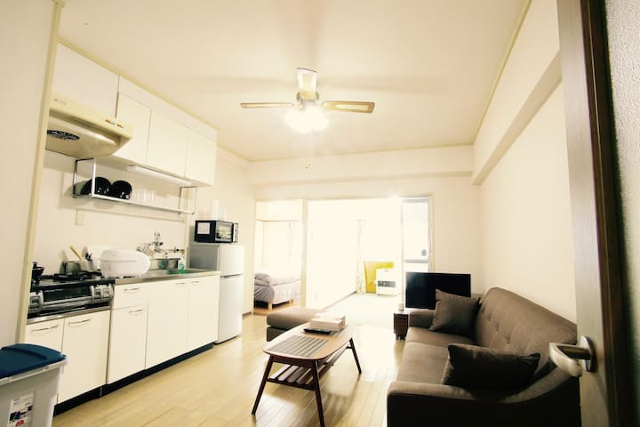 No.5 Center of Susukino 5 minutes to Susukino Sta. - Chuo Ward, Sapporo - Appartement