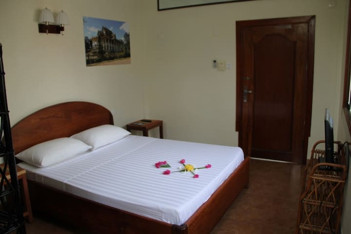 Classic room with cozy terrace in Battambang