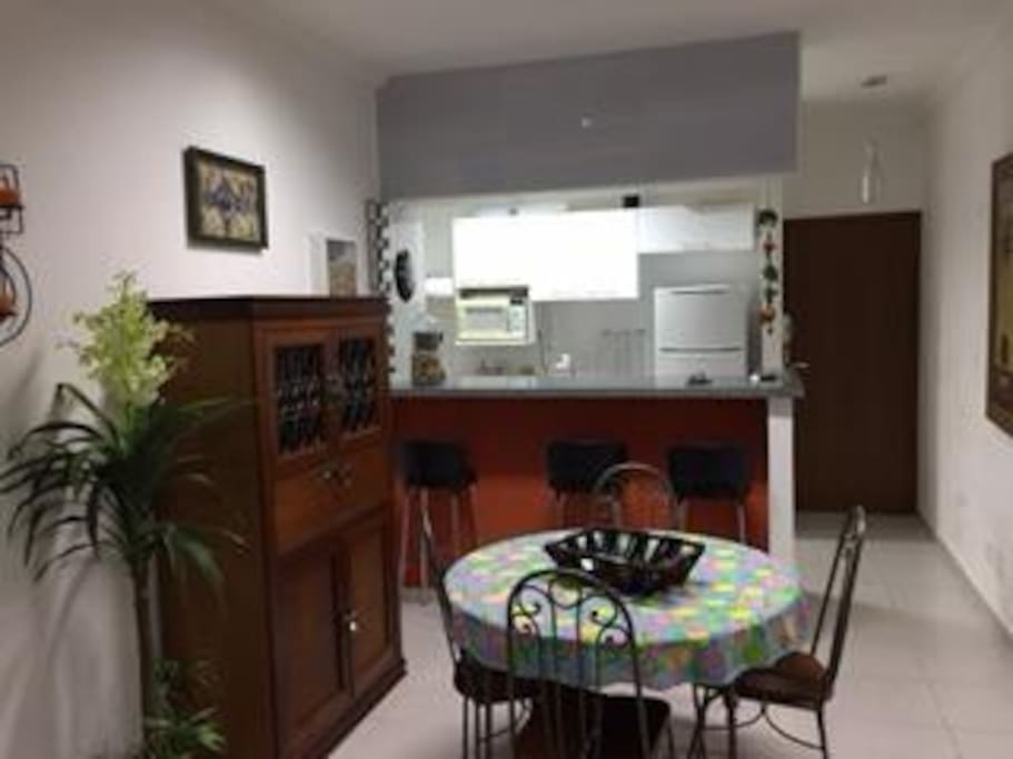 Sala de jantar e Cozinha