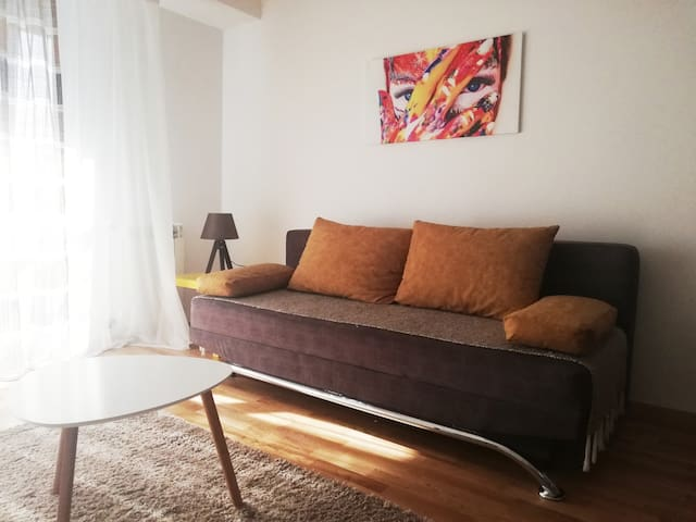 Cozy and sunny 50m2 apartment in Skopje