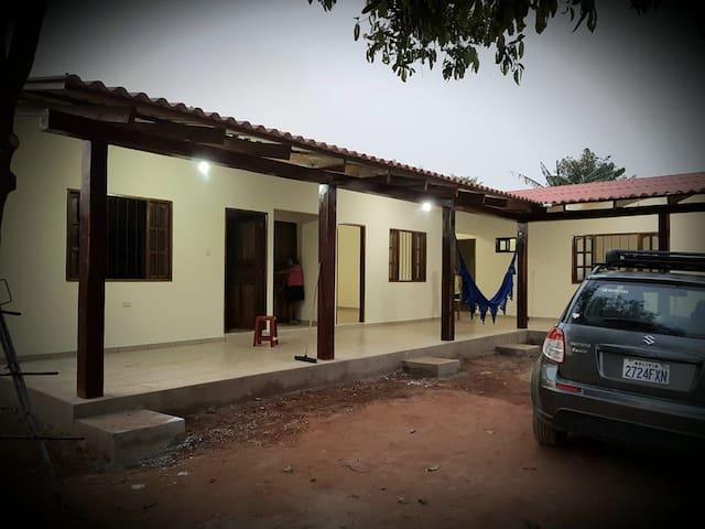 """Cabañas """"Baquitú"""" en Santiago de chiquitos-Bolivia"""