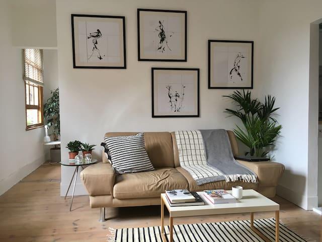 Beautiful, characterful flat in Stoke Newington