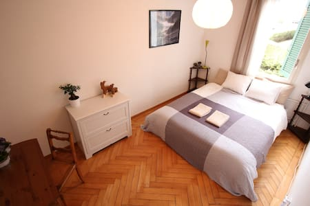 Perfectly located quiet room in Interlaken - Interlaken - Hus