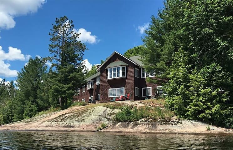 Historic  Adirondack Camp on Big Tupper Lake - Tupper Lake