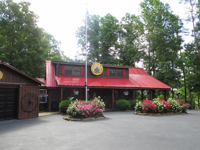 Pine Paradise Resort, Nolin Lake-KY - Bee Spring - Skáli