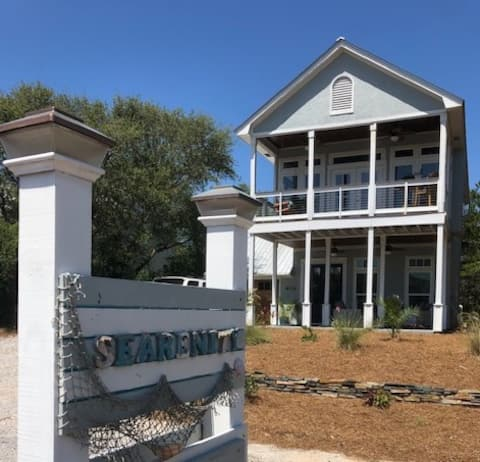 Pool and Ocean Views on 30A and 0.1 Walk to Beach