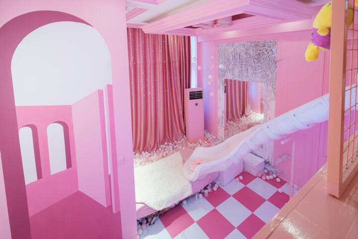 安隅心宿   小公举网红心宿大床房 Loft公寓 可做饭 近地铁 乳胶床垫 乳胶枕头