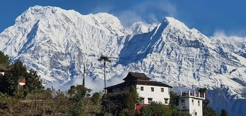Espectaculares vistas del Himalaya desde todas las habitaciones