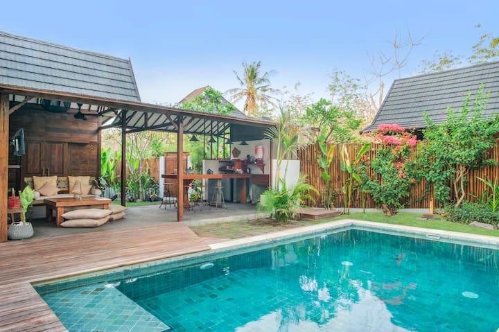 Villa Bayu - 3 Beds, Pool & Garden @ Rimba Villas