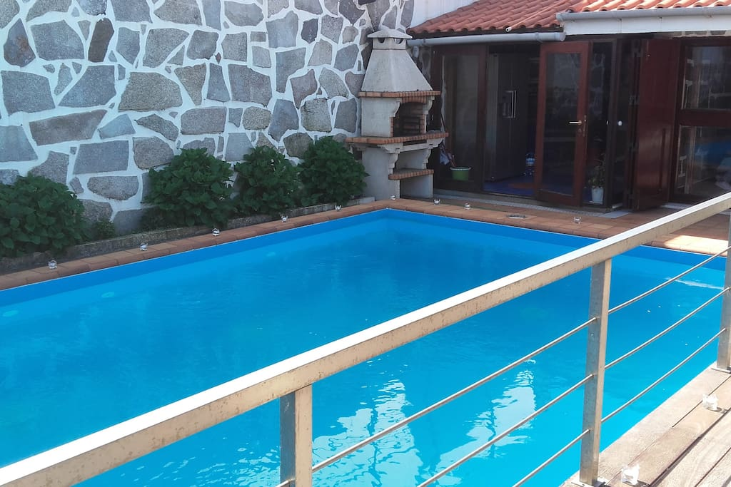 Relax Near The Sea Fantastic Swimming Pool Holiday Homes For Rent In Perafita Porto Portugal