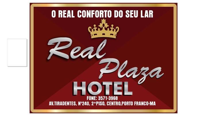 "Real plaza hotel ""Real CONFORTO do seu lar"""