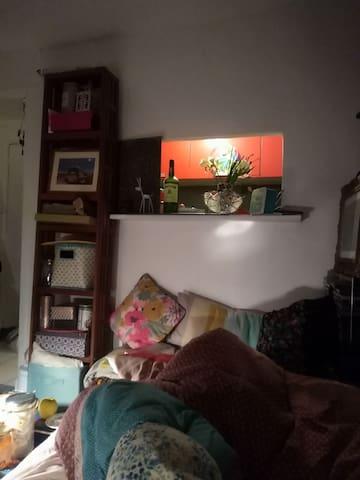 Auntie Jane's Paris studio