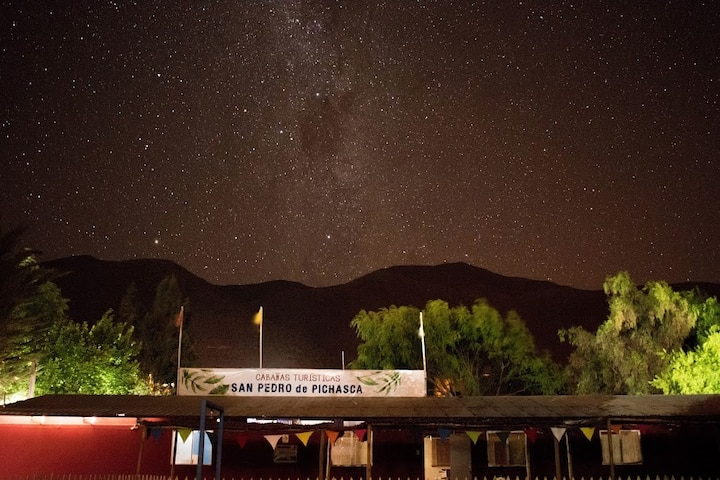 Cabañas turísticas en el Valle del Limarí