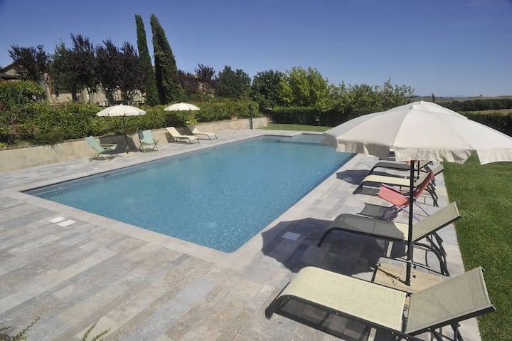 Farmhouse private garden&pool Vacavilla Exclusive