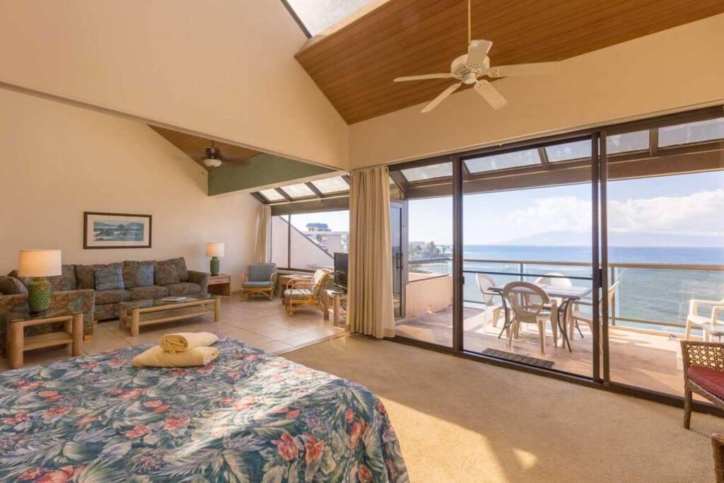 View of ocean from master bedroom