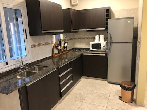 Appartement central, 2 chambres, neuf