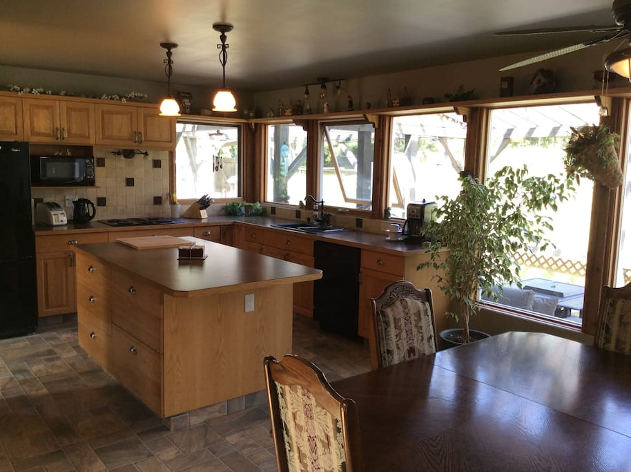 Farm House Upper Suite Main floor Kitchen