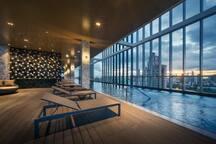 1Bedroom city view,Near BTS, wifi ,Pool , Gym