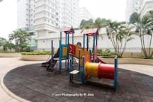 Playground area in the Apartment
