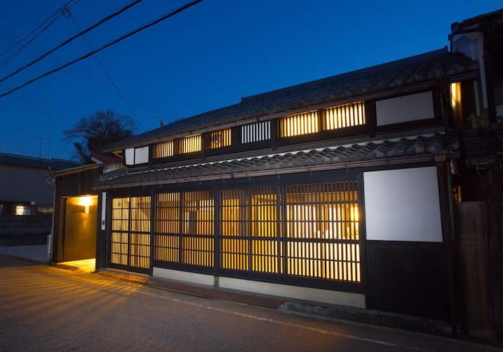 110 yr heritage home 20 min by Shinkansen to Kyoto