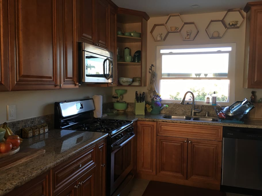 The Kitchen you are welcome to use (just no animal products please!)