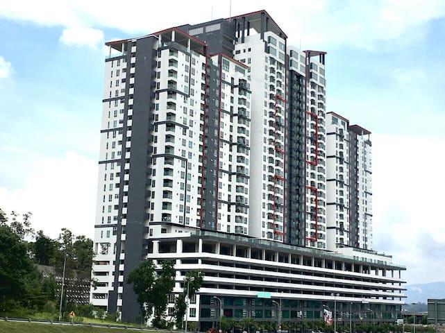 Sutera Homestay, Balakong- Cheras - Batu 9 Cheras - Kondominium