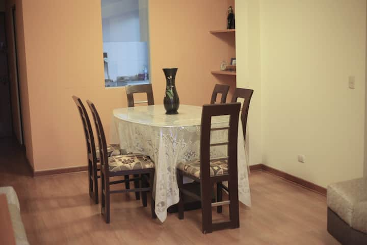 Comfortable 3-room apartment in a central location