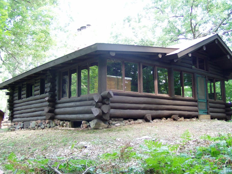 Porch-side of cabin
