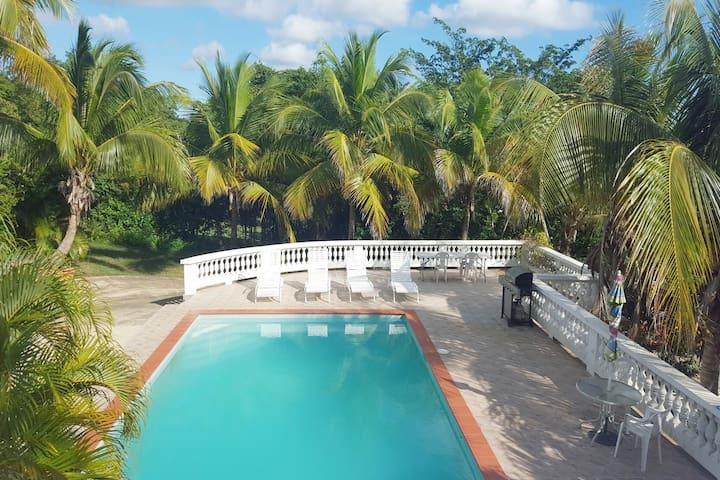 Studio & Private bath&kitche& Pool next to BioBay - Vieques - Lägenhet