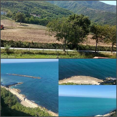 Casa in collina e ad un'ora dal  Mar Adriatico