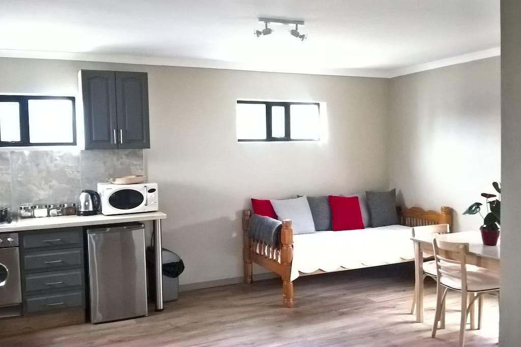 Spacious private apartment with equipped kitchen for Kitchens western cape