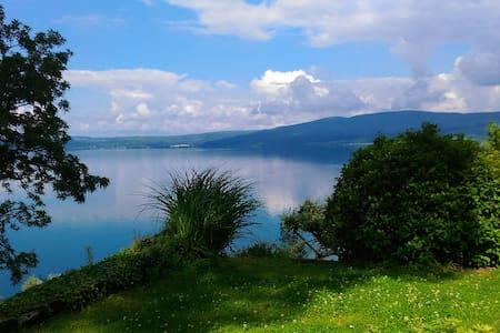 Villa con splendida vista lago e spiaggia privata - Trevignano Romano - Villa