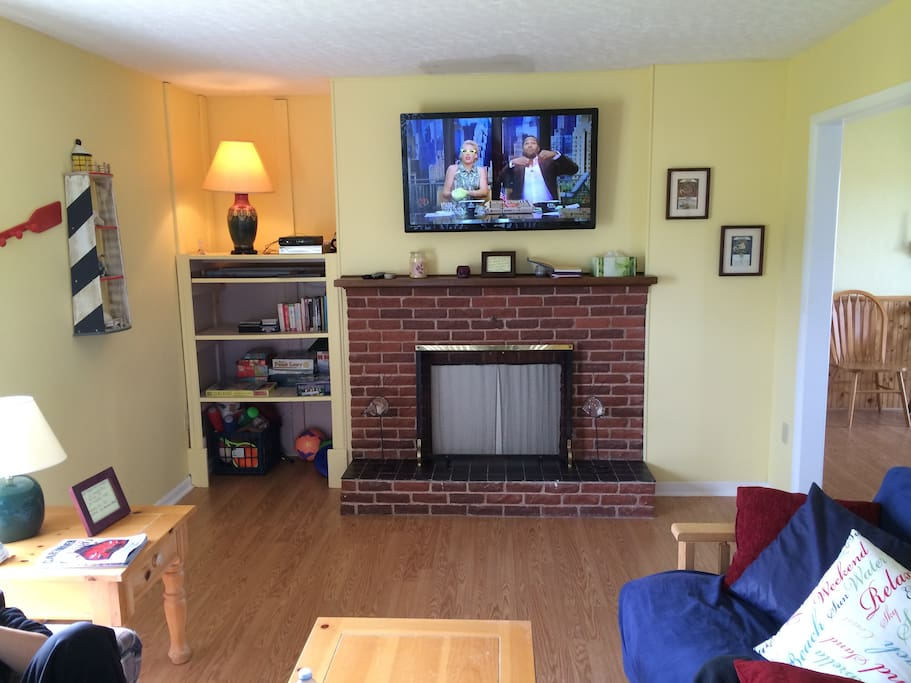 """New 48"""" H.D. TV with Satellite"""