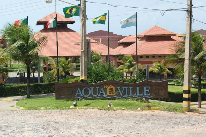 Aluga-se Aquaville Resort - Porto das Dunas.